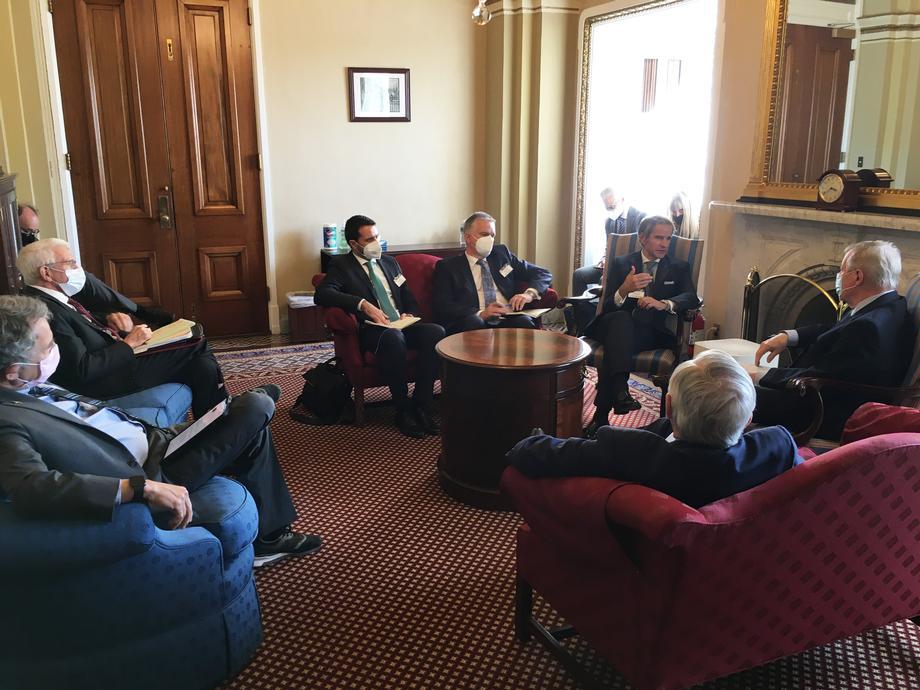 Durbin Meets With IAEA Director General Grossi