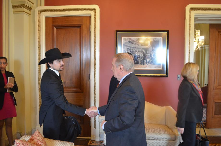 Durbin Meets With Utah Wilderness Coalition