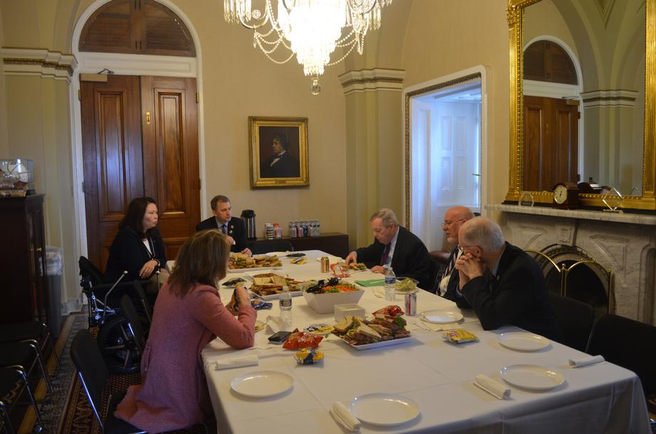 Durbin Hosts Illinois Members & CDC Director For Delegation Lunch