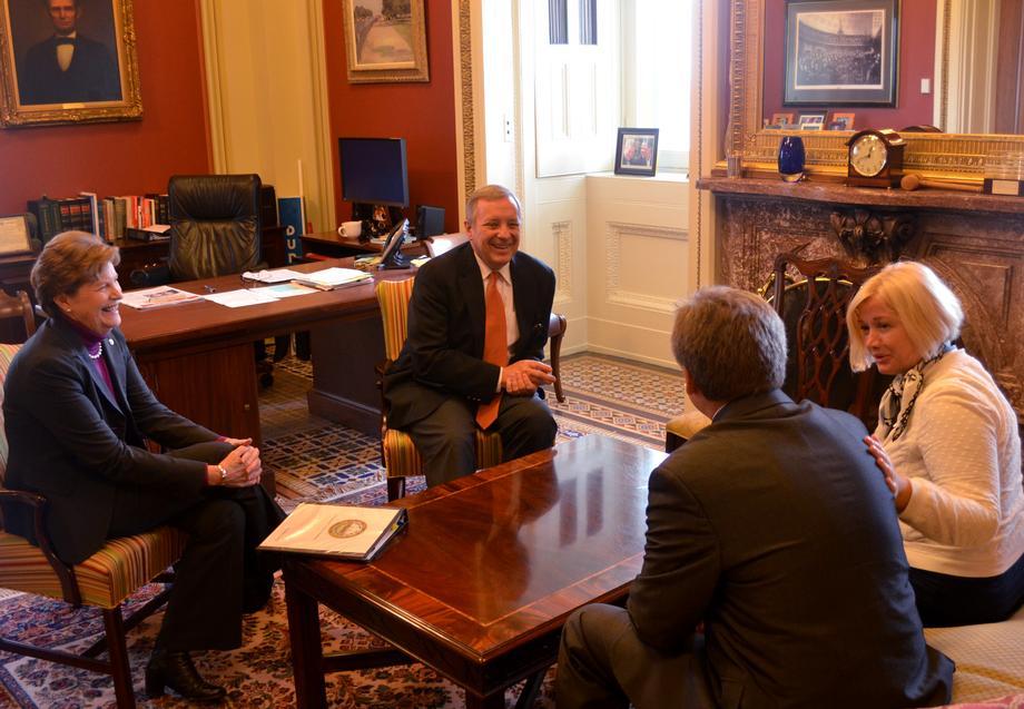 [WASHINGTON, D.C.] September 29, 2015 - U.S. Senator Dick Durbin (D-IL) met with Ukrainian Members of Parliament to discuss the situation in Ukraine.