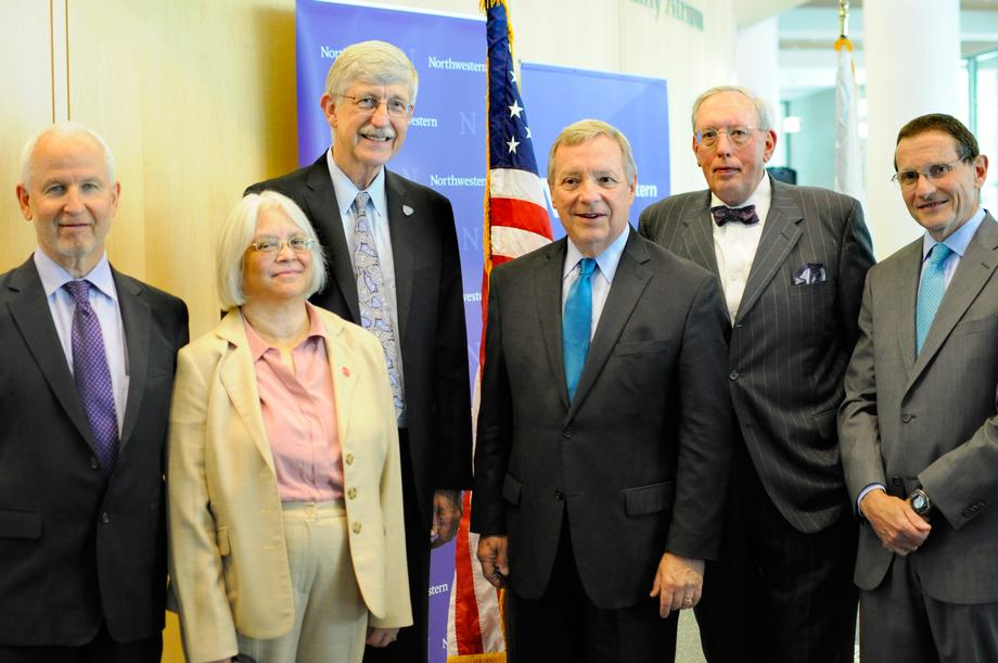Durbin Welcomes NIH Director to Chicago