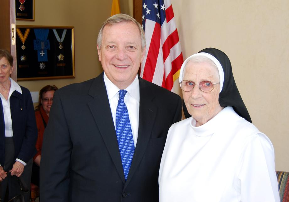 September 24, 2015 - I am honored Sister Philip Neri Crawford joined me for his Holiness Pope Francis' address to a Joint Meeting of Congress.