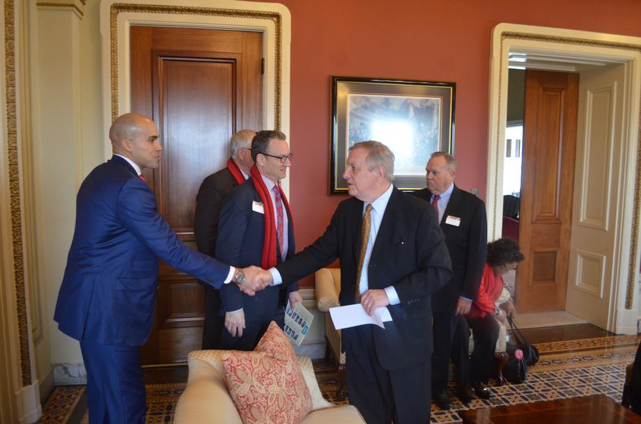 Durbin Meets With Illinois Primary Health Care Association