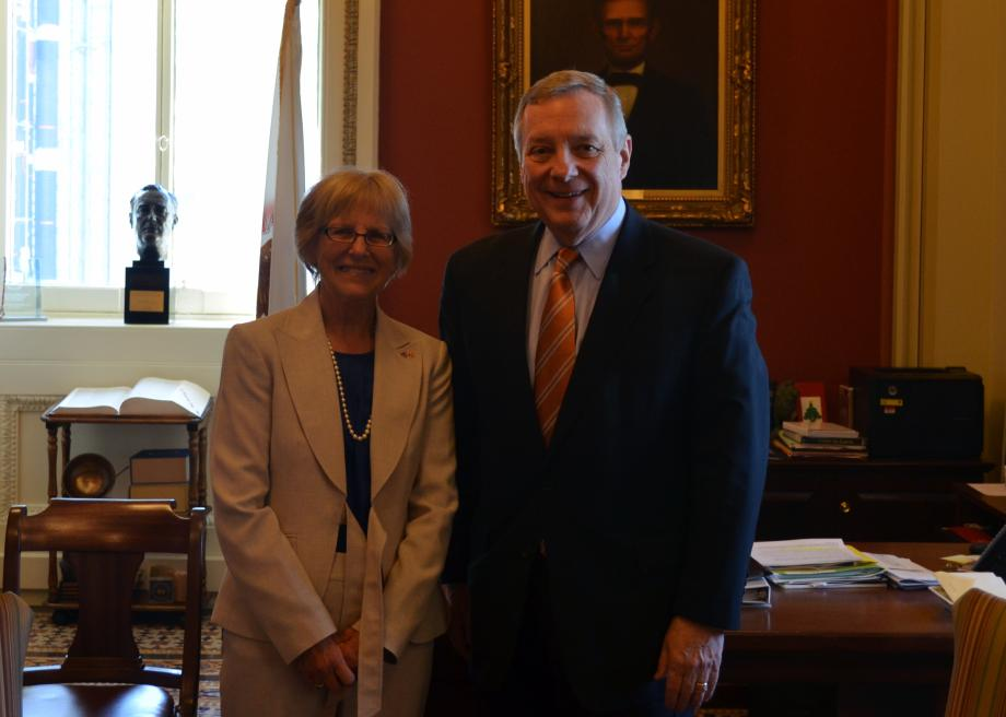 Illinois Farm Service Agency Chair Jill Appell Joins Durbin Joint Meeting of Congress
