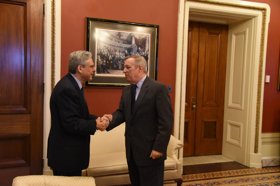 Meeting with Supreme Court Nominee Judge Merrick Garland