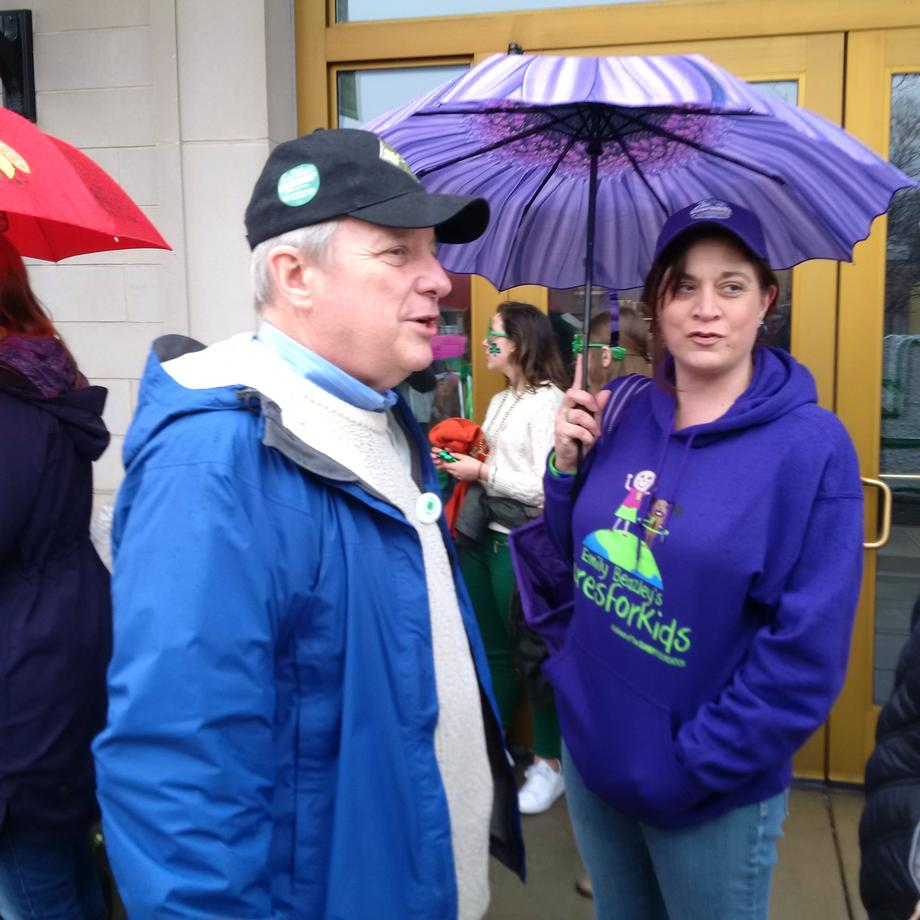 March 13, 2016 - I attended the South Side Irish Parade in Chicago