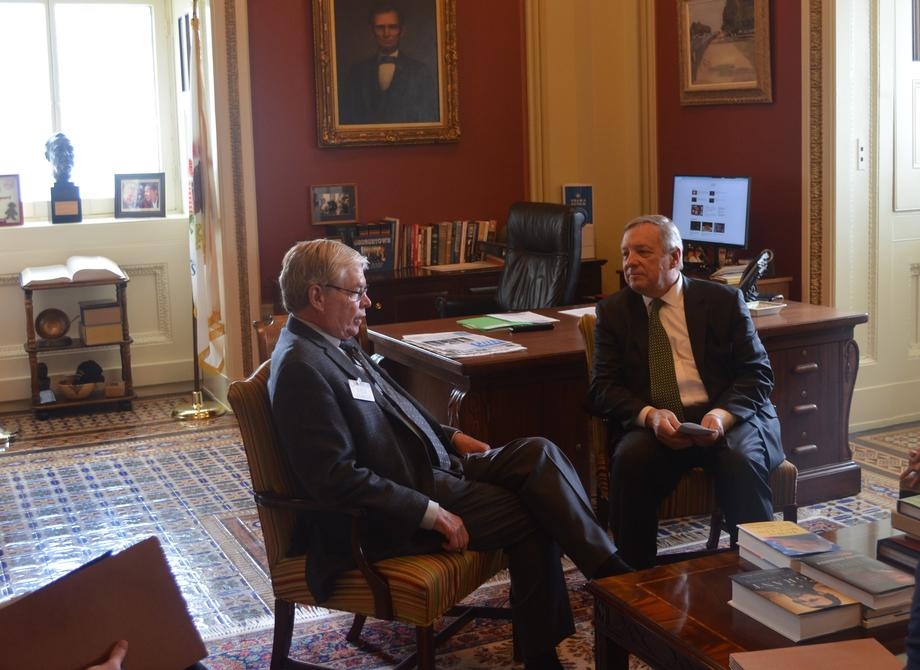 Durbin Meets With Metra CEO
