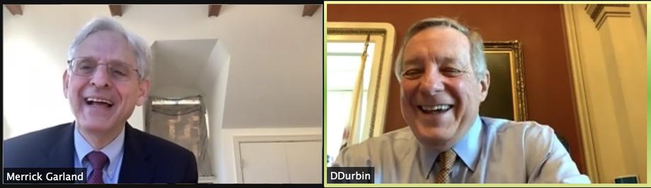 Durbin Discusses Justice Department Priorities with Merrick Garland, Biden Nominee for Attorney General