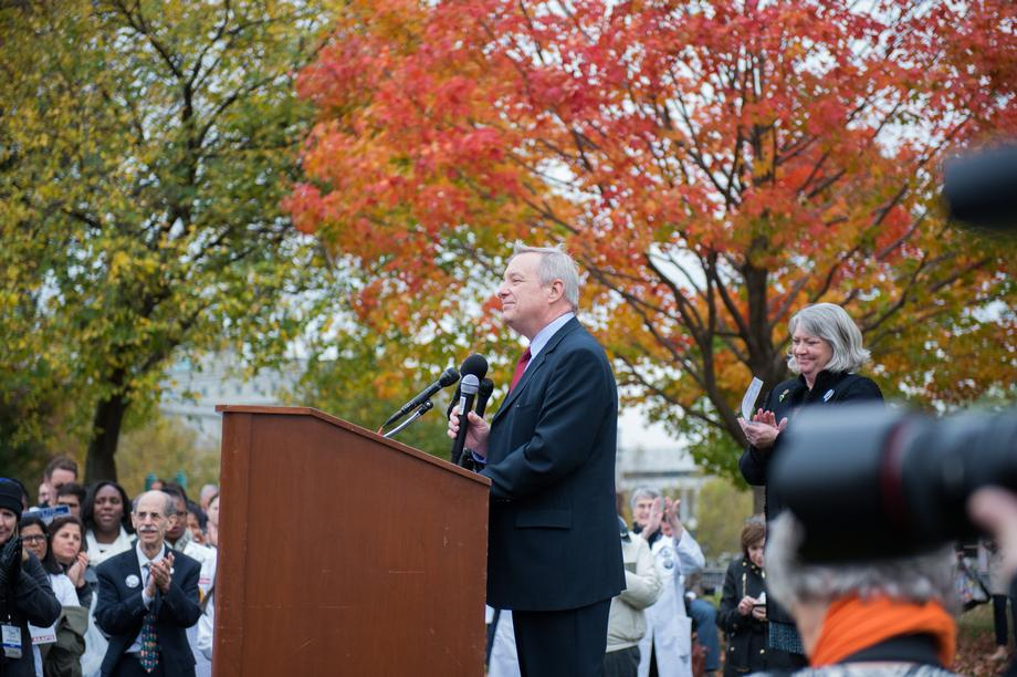 October 27, 2015 - I spoke at the Rally for Children on the importance of funding our nation's federal research agencies and protecting children from the scourge of gun violence.