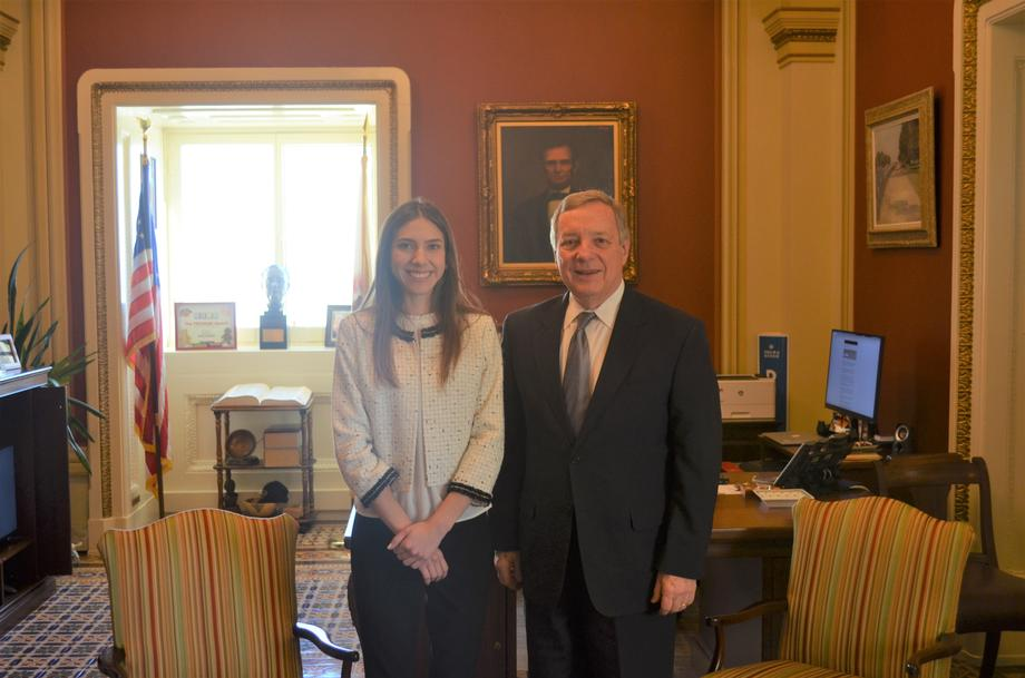 Durbin Meets With Venezuelan First Lady