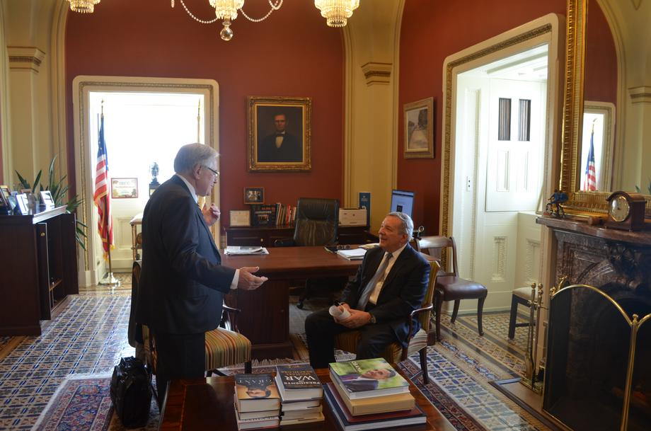 Durbin Meets With Federal Railroad Administration Administrator