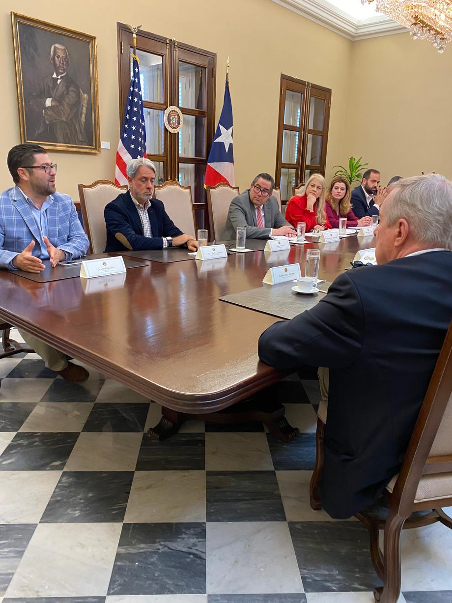 DURING TRIP TO PUERTO RICO, DURBIN, GARCIA HIGHLIGHT RECONSTRUCTION & RESILIENCY EFFORTS IN AFTERMATH OF RECENT NATURAL DISASTERS
