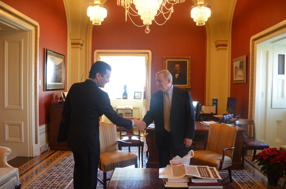 Durbin Meets With FDA Commissioner Scott Gottlieb