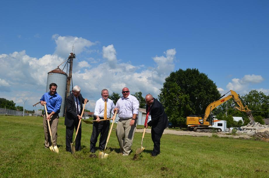 I spoke at the groundbreaking ceremony for a new Amtrak station in Dwight on Tuesday, August 11.