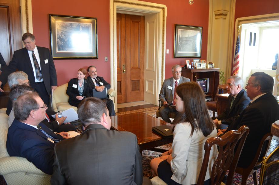 July 15, 2015 - I met with the Illinois Soybean Association to discuss agricultural priorities