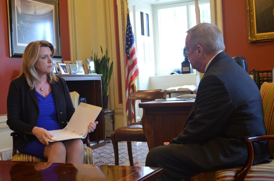 February 4, 2016 - Air Force Secretary James and I met to discuss Illinois priorities.