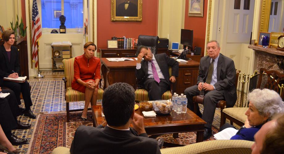 February 3, 2016 - I met with representatives from the CDC to discuss the US response to the emerging Zika virus.