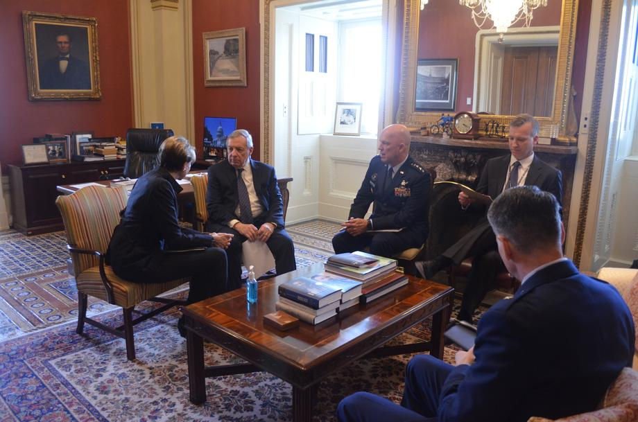 Durbin Discusses Detection Of PFAS Near Scott Air Force Base With Secretary Of The Air Force